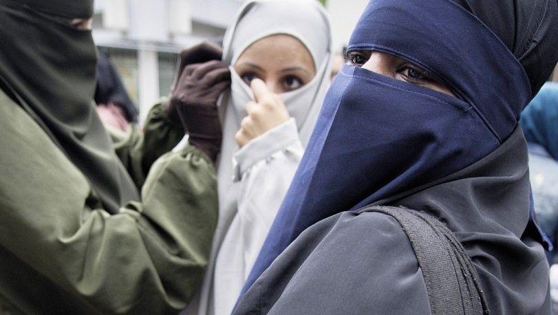 Verhüllte Frauen in Offenbach 2014: »Ein politisches Projekt«