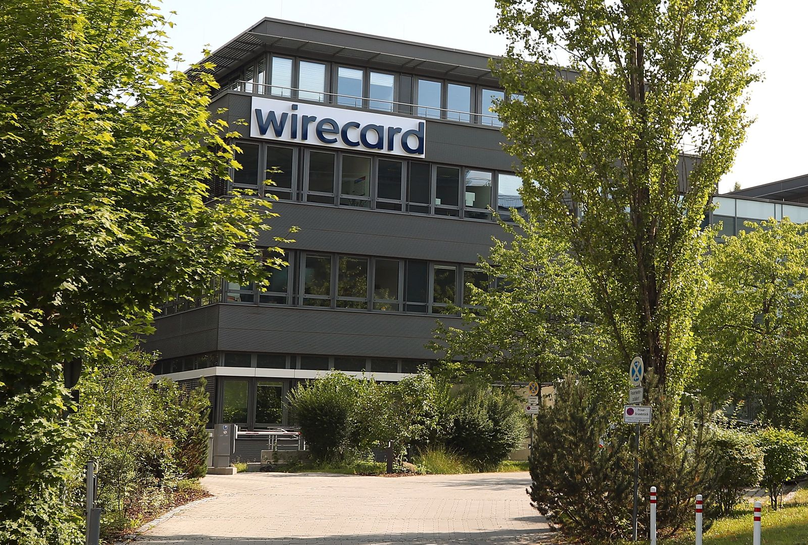 The headquarters of Wirecard AG, an independent provider of outsourcing and white label solutions for electronic payment transactions is seen in Aschheim