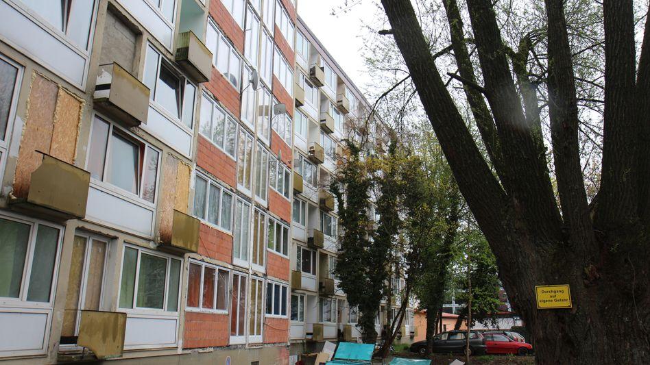 "Landshuter Apartmentkomplex ""Drachenburg"""