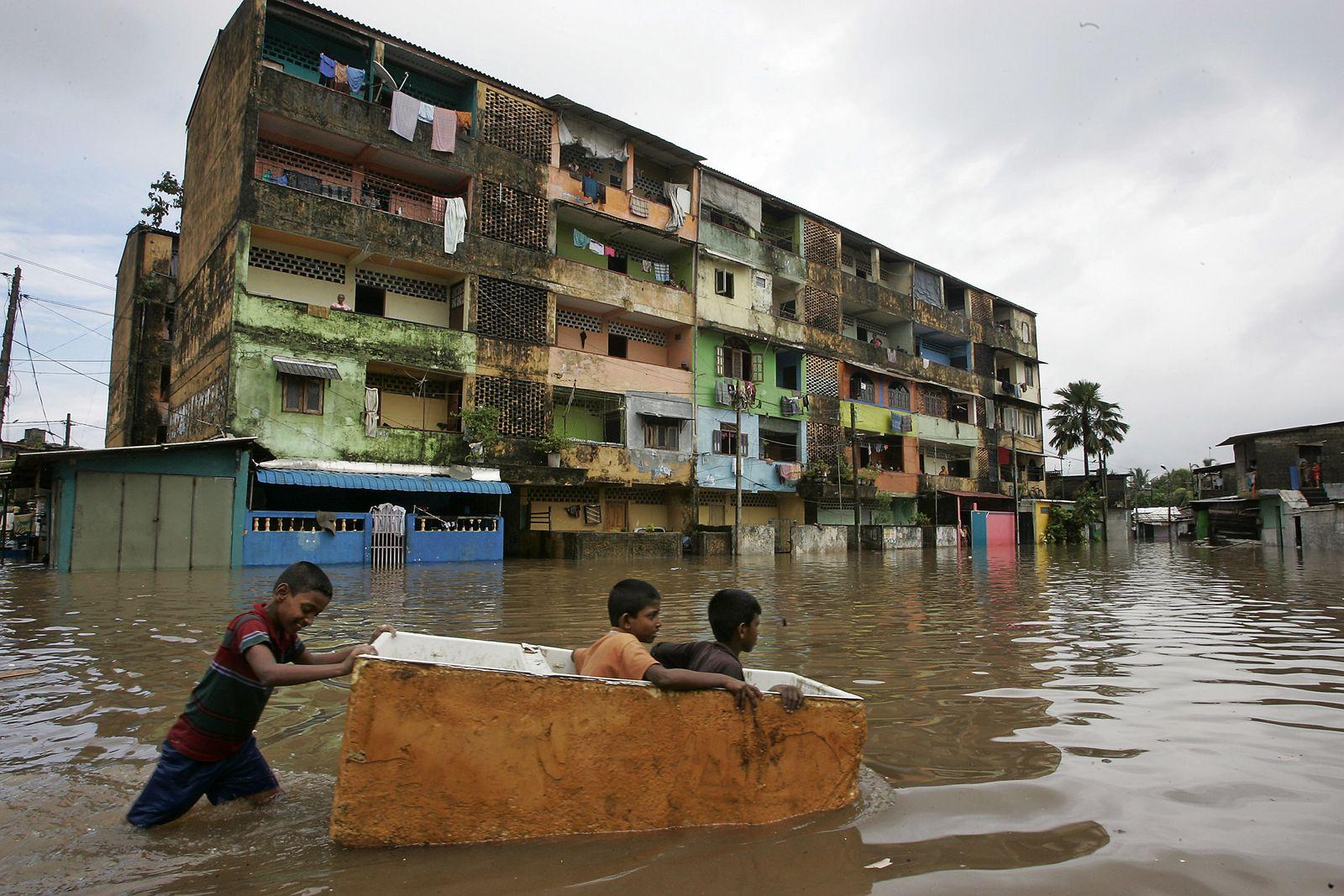Überflutungen/Sri Lanka