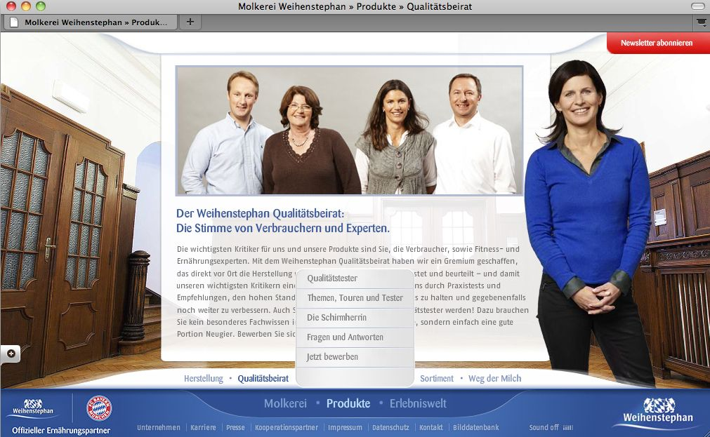 Screenshot / Weinstephan / Schleichwerbung