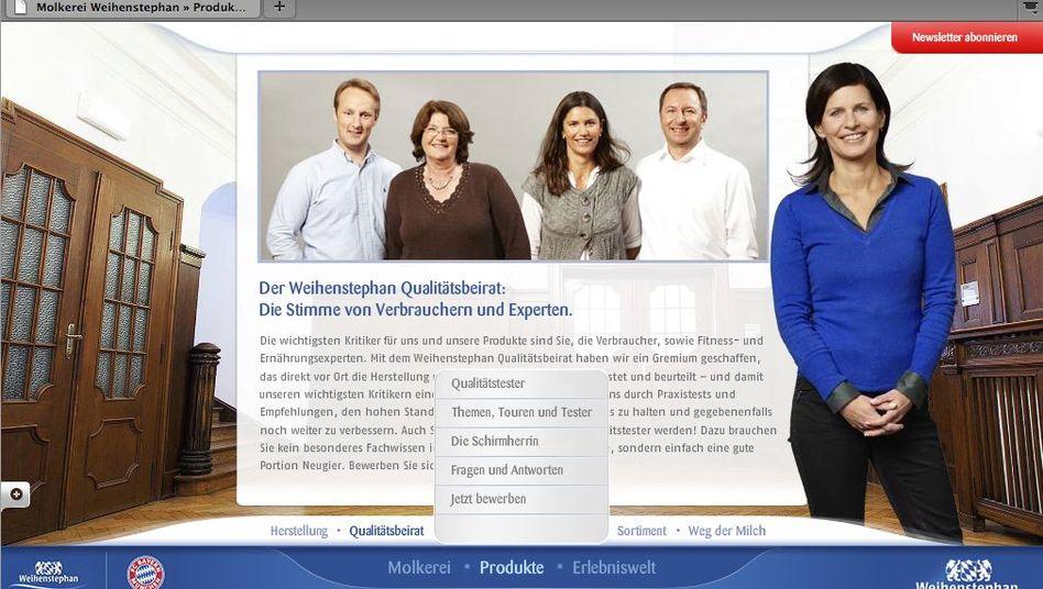 """Moderatorin Müller-Hohenstein auf Firmen-Website: """"Beende die Arbeit als Schirmherrin"""""""
