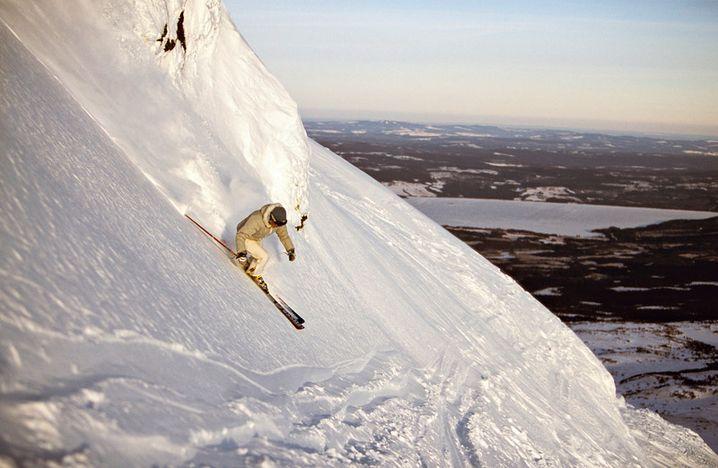 Åre: Abenteuerliche Skitouren und steile Abhänge