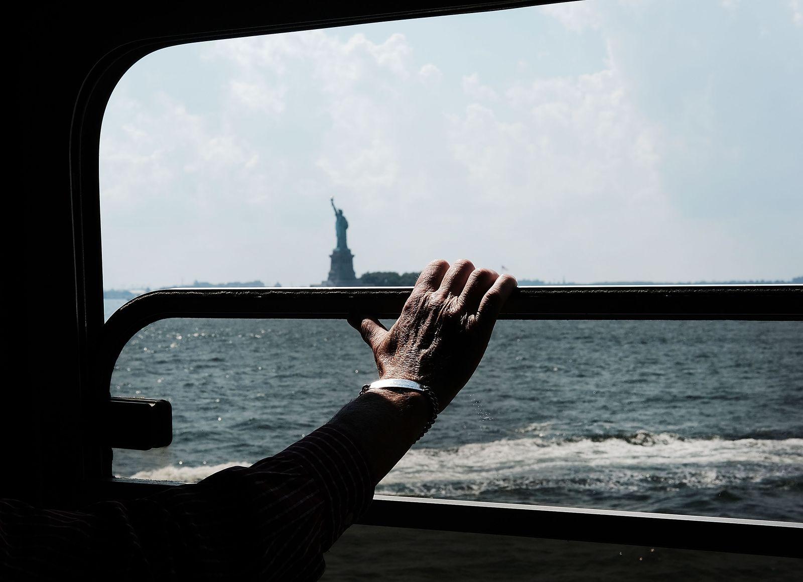 Heat And High Humidity Envelops New York City