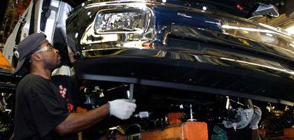 Chrysler-Mitarbeiter (in Warren, Michigan): Insolvenz ist nicht das Ende