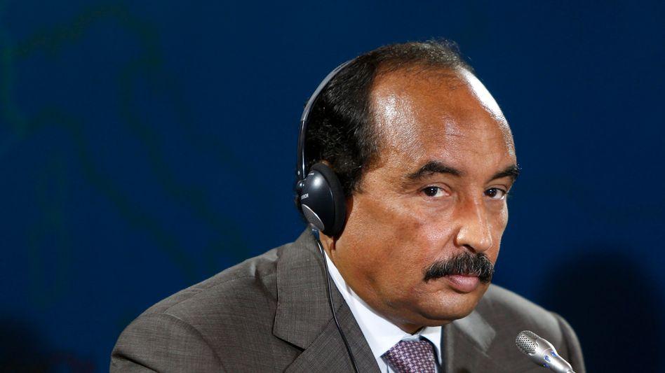 Mauretaniens Präsident Aziz: Schussverletzung an einer Straßenkontrolle