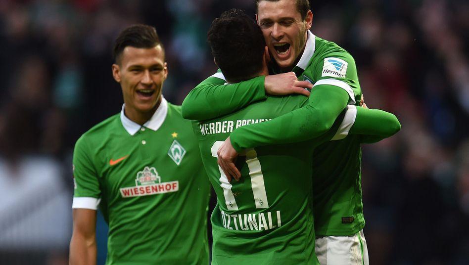 """Werder-Star Junuzovic (r.): """"Mit breiter Brust vom Platz gehen"""""""