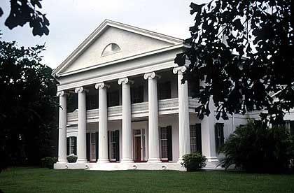 Madewood Plantation - Haupthaus mit gediegenem Ambiente