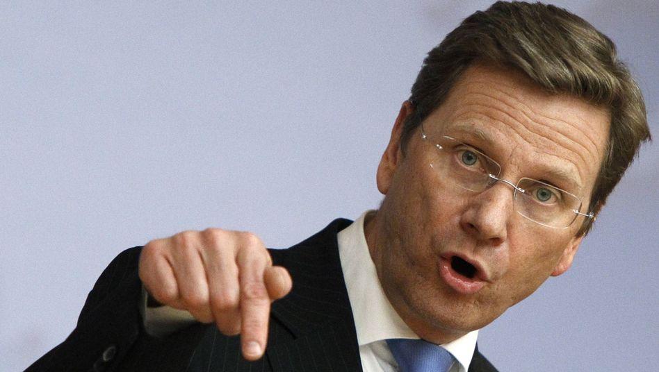 Außenminister Westerwelle: Washington ist wenig begeistert