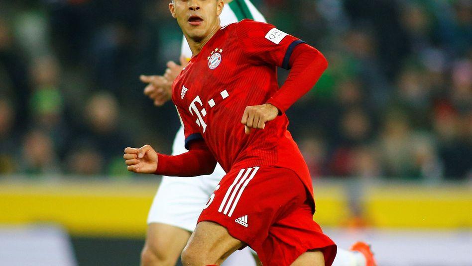 Bayern Münchens Thiago
