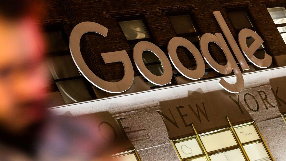 Das Google-Gebäude im New Yorker Stadtteil Manhattan