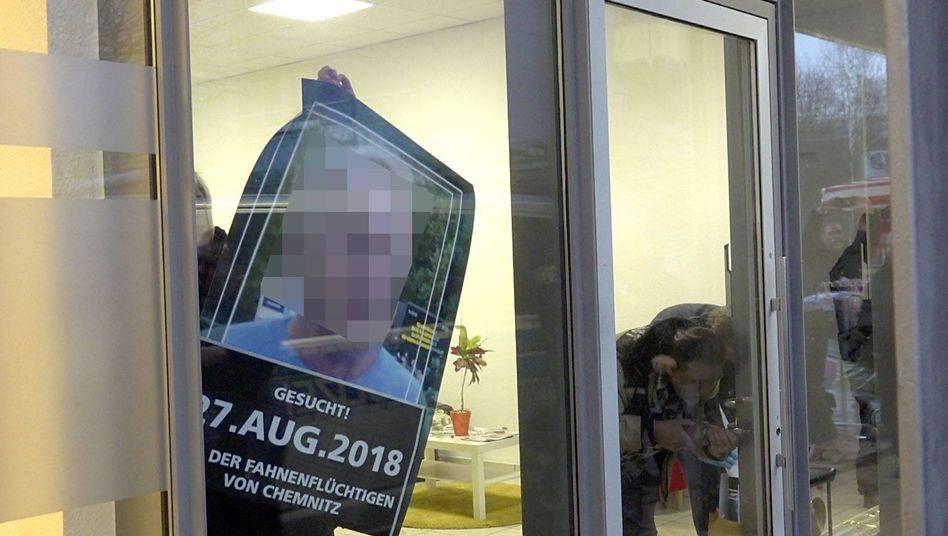 Polizeieinsatz im Büro des Zentrums für Politische Schönheit in Chemnitz