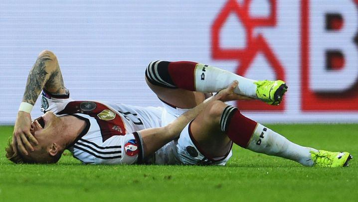 Marco Reus: Verletzt in der Nachspielzeit