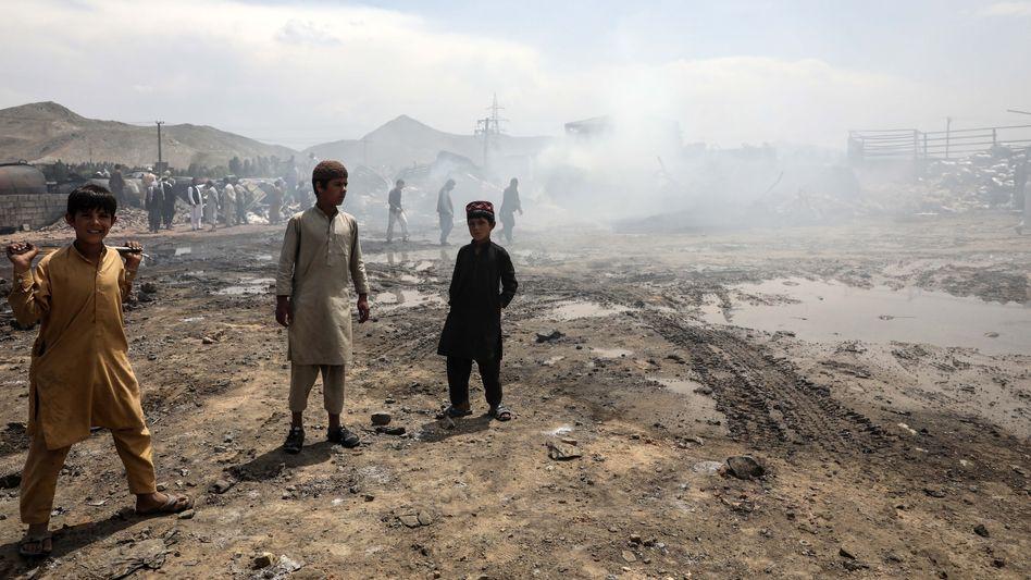 Kinder nahe der Hauptstadt Kabul (Archivbild)