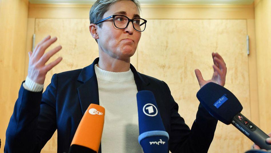 Susanne Hennig-Wellsow (Die Linke), Parteivorsitzende und Fraktionschefin in Thüringen