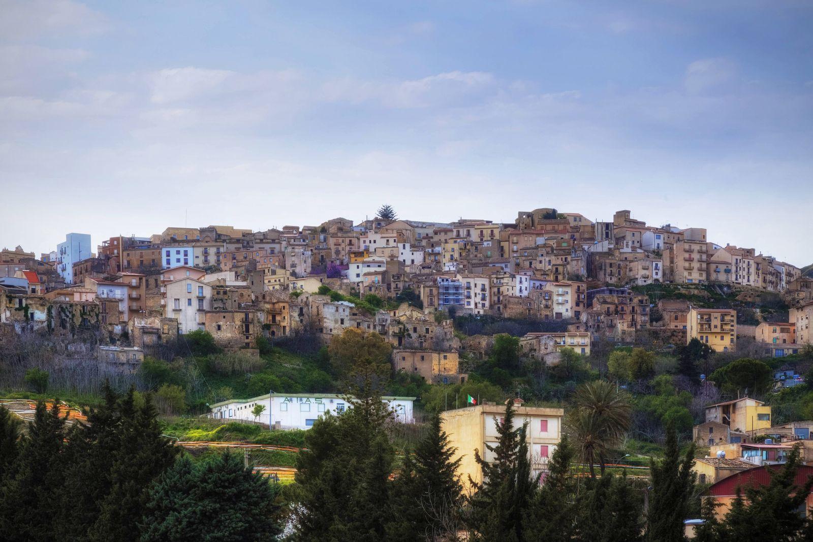 Salemi Trapani Sicily Italy