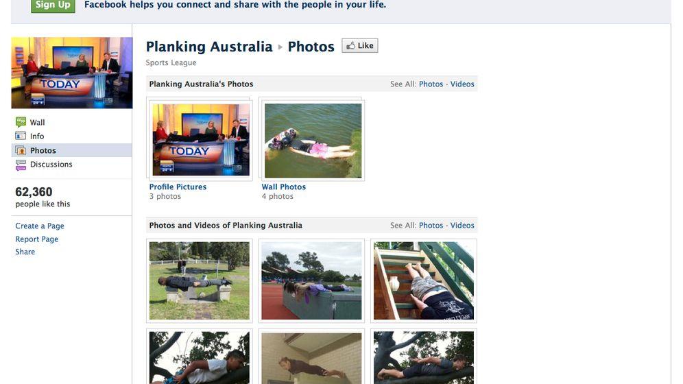 Planking: Blödsinn als Massenbewegung