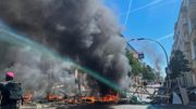Ausschreitungen und brennende Barrikaden in der Rigaer Straße – 60 Polizisten verletzt