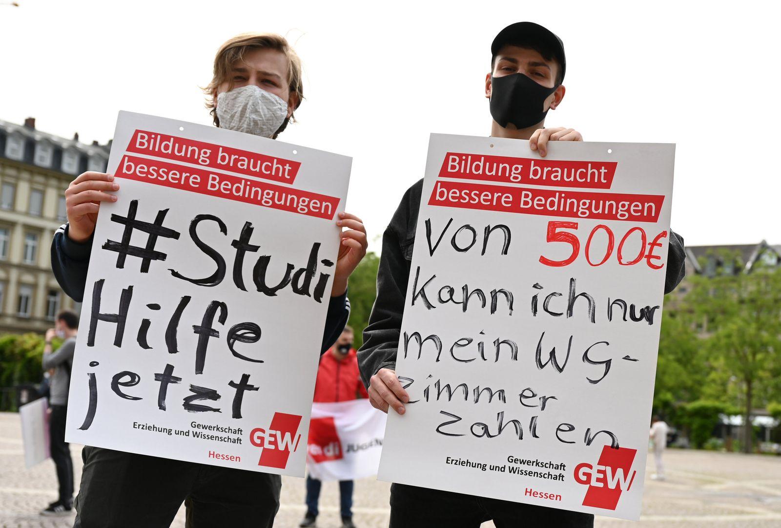 Kundgebung hessischer Studierendenvertretungen