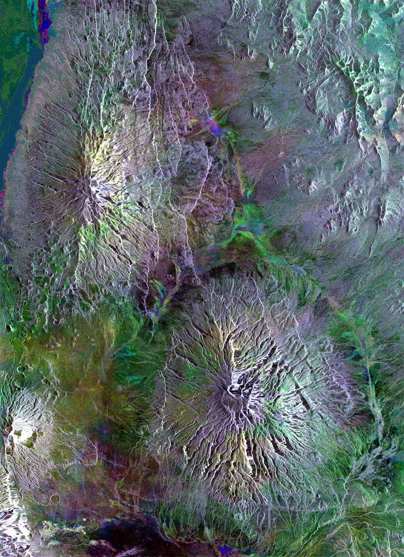 Satellitenbild Tanzania / Großer Afrikanischer Grabenbruch