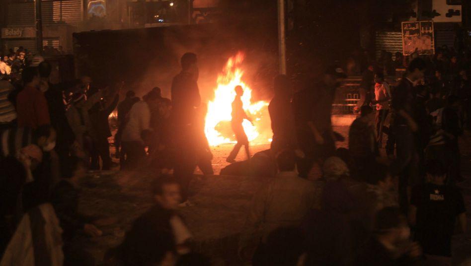 Unruhen in Ägypten: Gewalt kehrt auf den Tahrir-Platz zurück