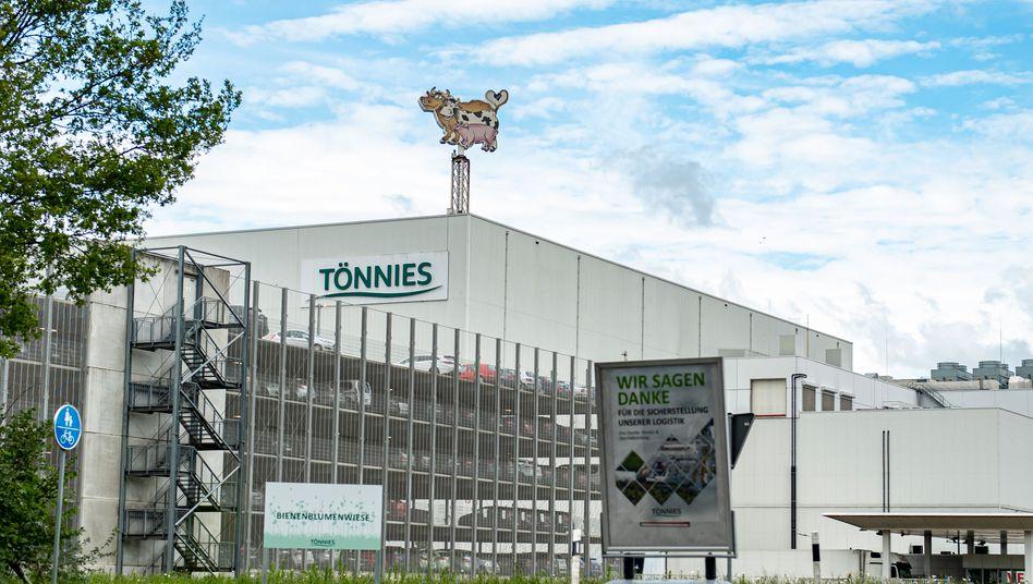 Tönnies-Schlachtbetrieb in Reda-Wiedenbrück: Zweite Welle