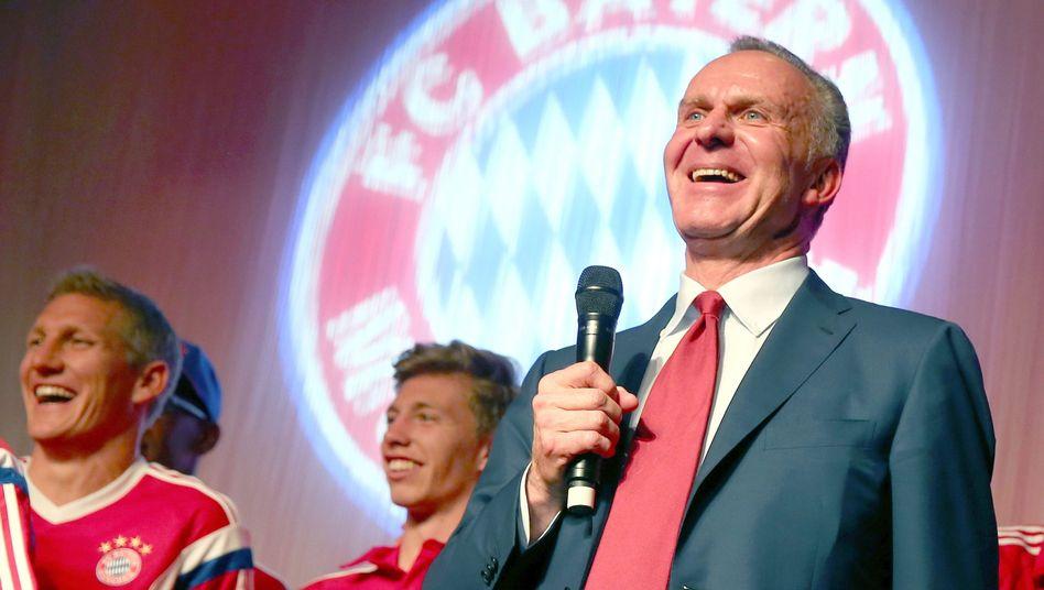 Bayern-Boss Rummenigge