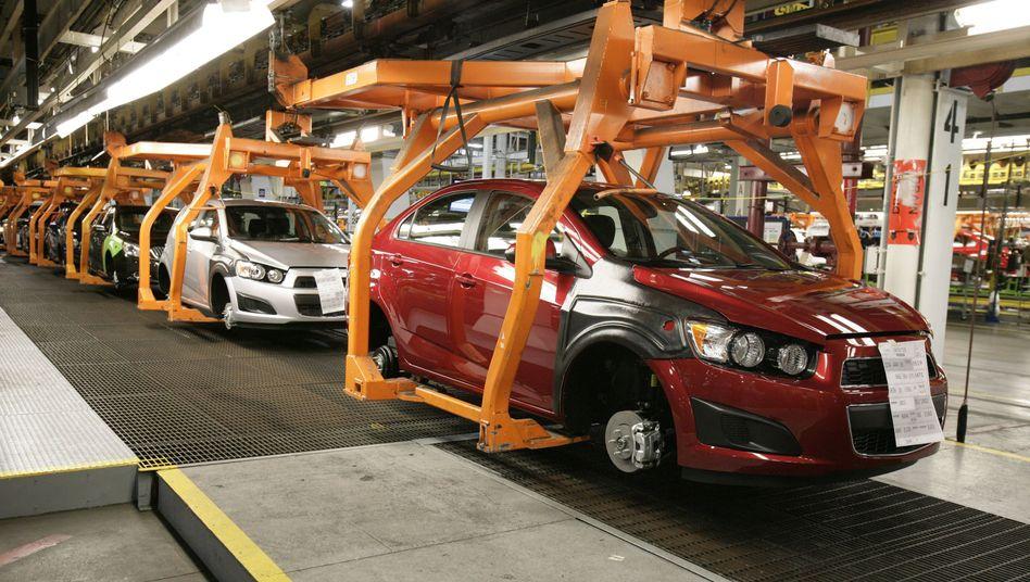 Chevrolet-Produktion in Michigan: Verkäufe wie zu Glanzzeiten