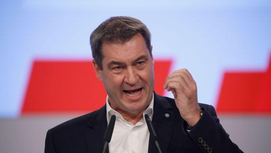 """CSU-Chef Söder: """"Wichtig, neuen Schwung in die Regierung zu bringen"""""""