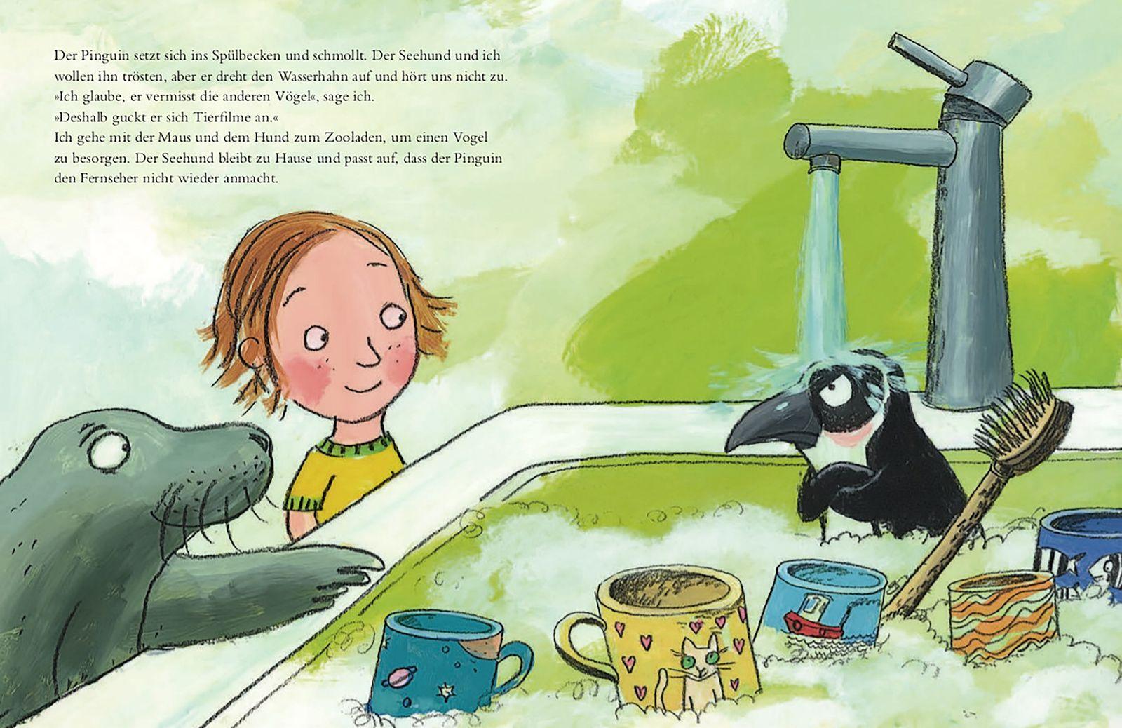 Kinderbücher/ Constanze Spengler& Katja Gehrmann: Seepferdchen sind ausverkauft