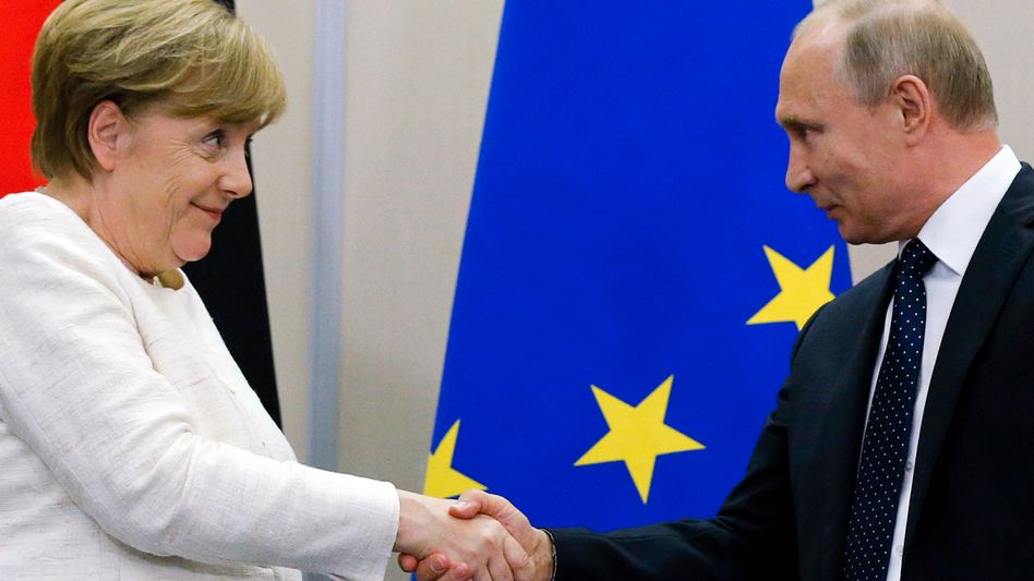 Angela Merkel, Wladimir Putin