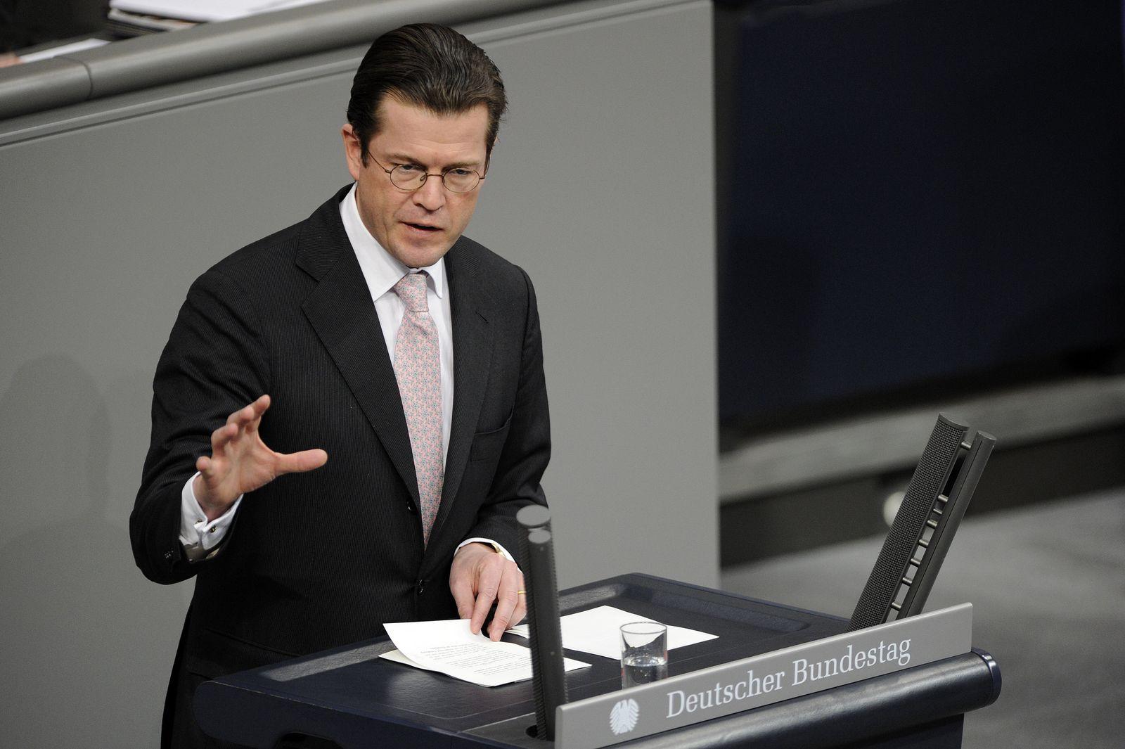 Guttenberg / Bundestag