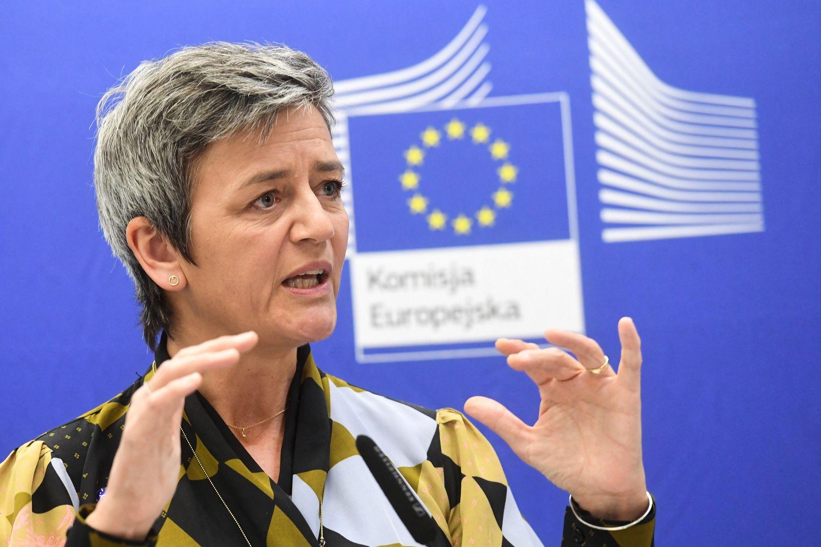 EU-Wettbewerbskommissarin Vestager besucht Polen