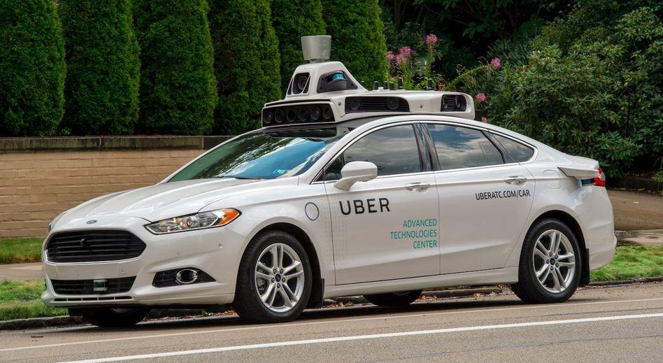 Uber-Testauto: Homeoffice bis mindestens Ende Oktober