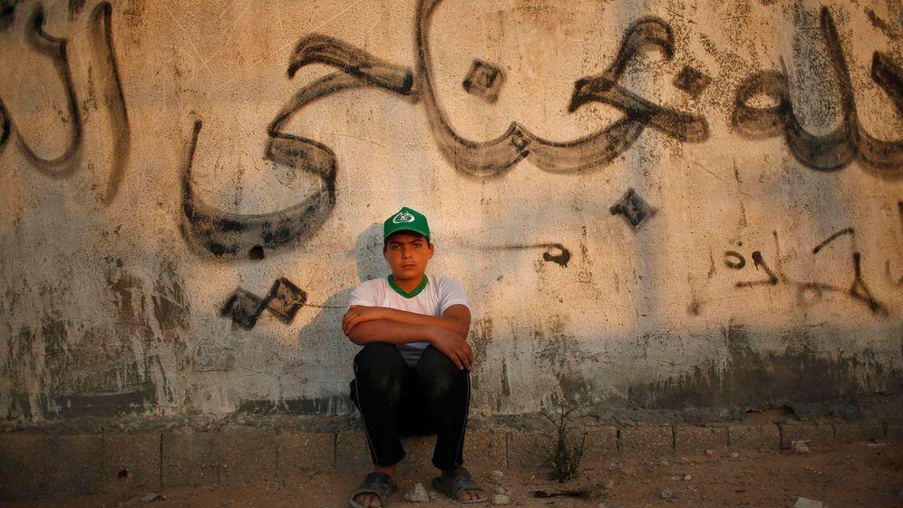Ferien im Gaza-Streifen: Seilspringen, Tanzen, Schießübungen