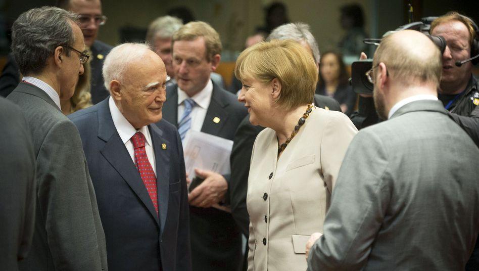 Merkel in Brüssel: Die Kanzlerin versucht gegenzusteuern