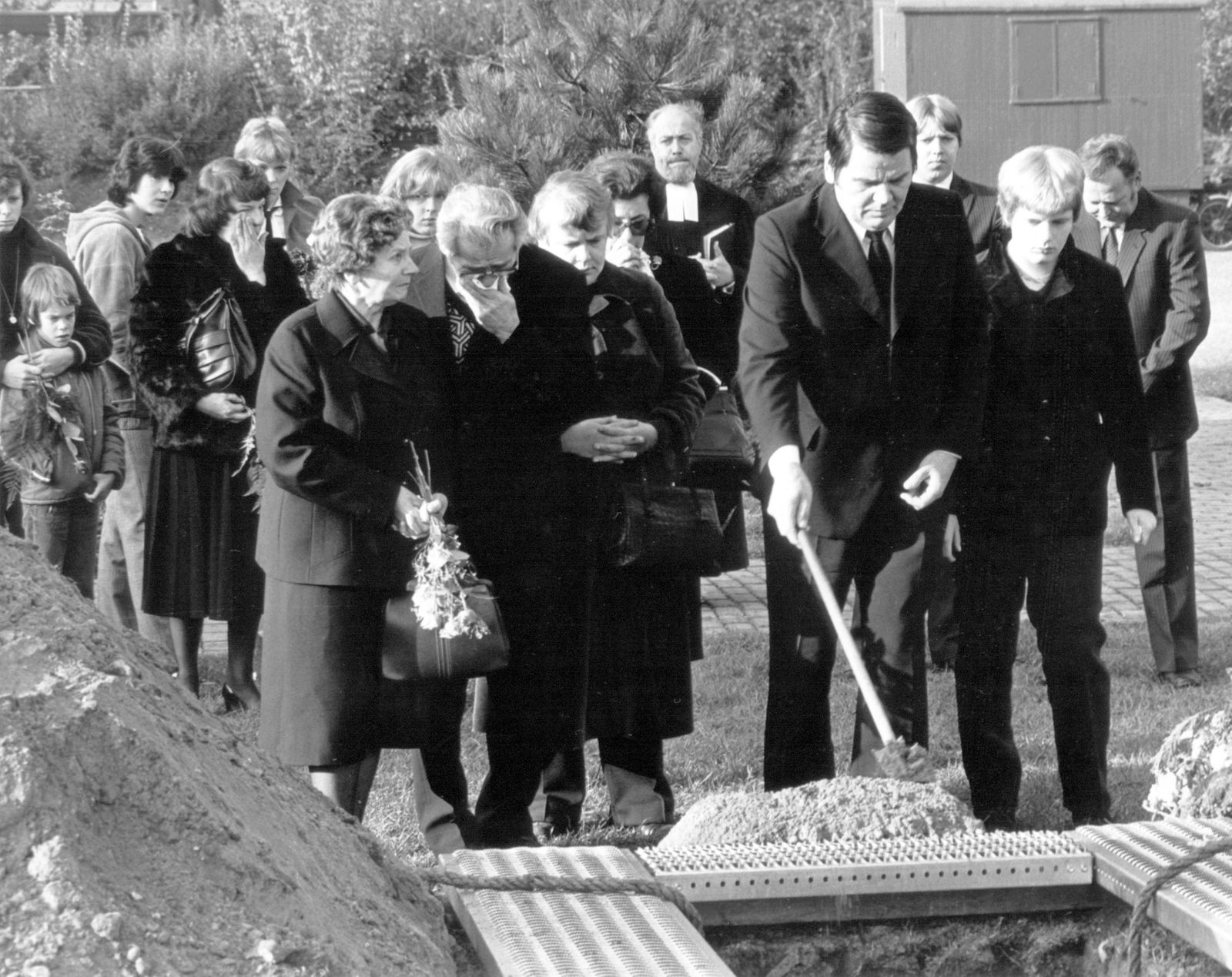 Beerdigung Klaus-Jürgen Rattay