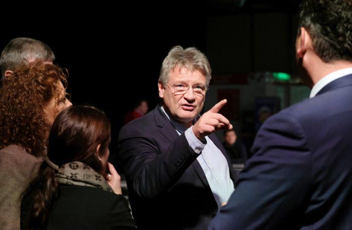 AfD-Chef und Spitzenkandidat Jörg Meuthen