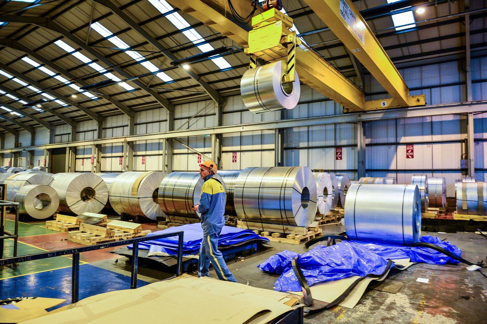 Stahlproduzent Tata in Großbritannien