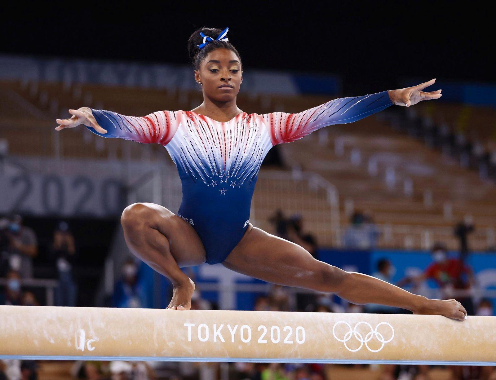 Tokio 2020: Simone Biles holt Bronze auf dem Schwebebalken