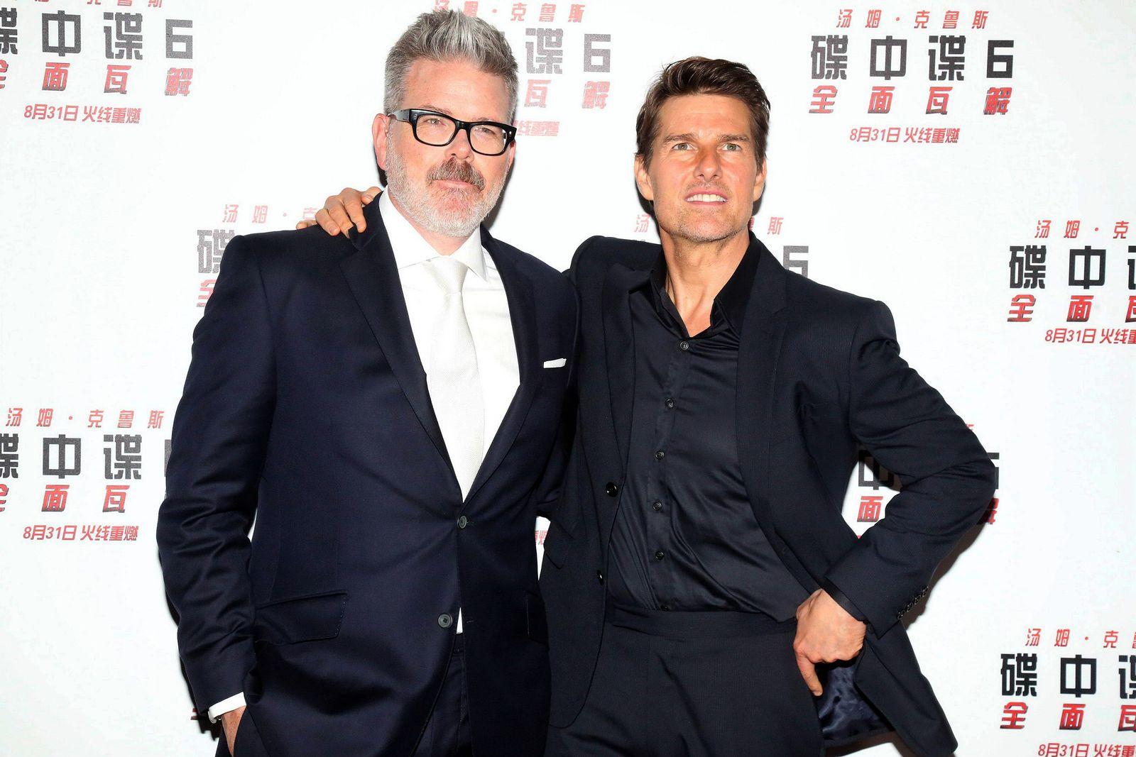 EINMALIGE VERWENDUNG Chris McQuarrie & Tom Cruise
