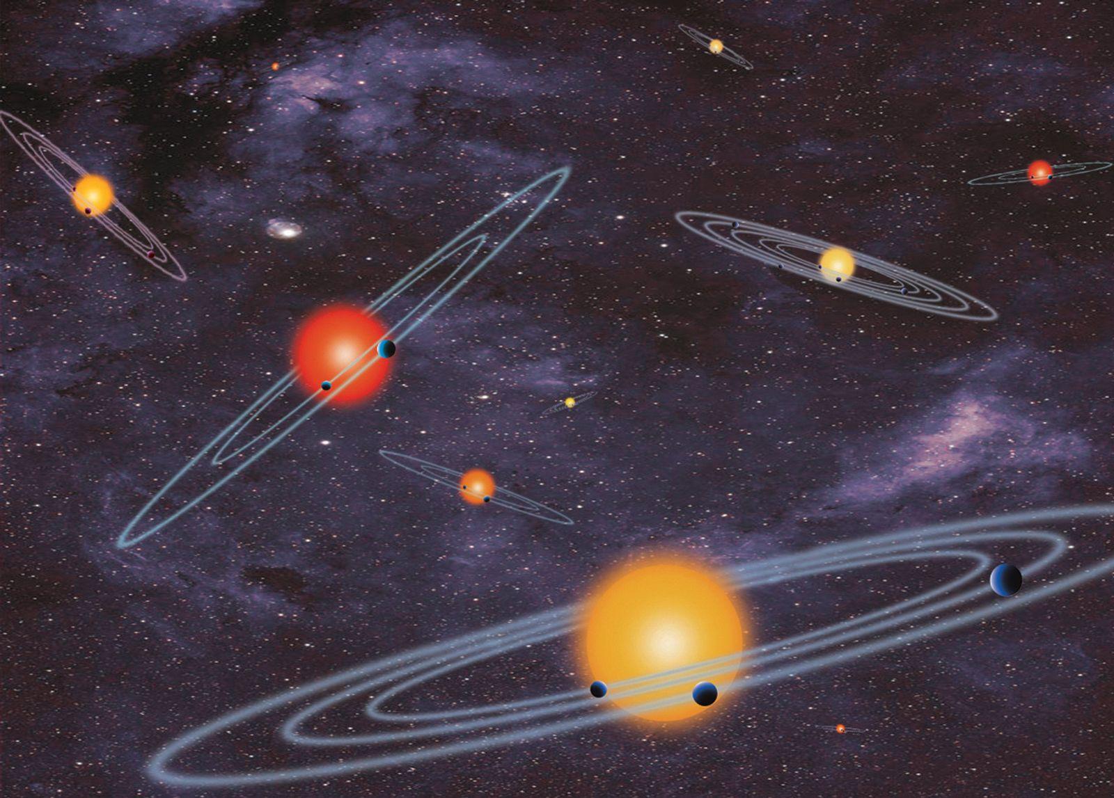 Planet Bonanza Exoplaneten