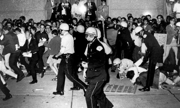 Als es noch krachte: Unruhen beim Demokraten-Parteitag 1968