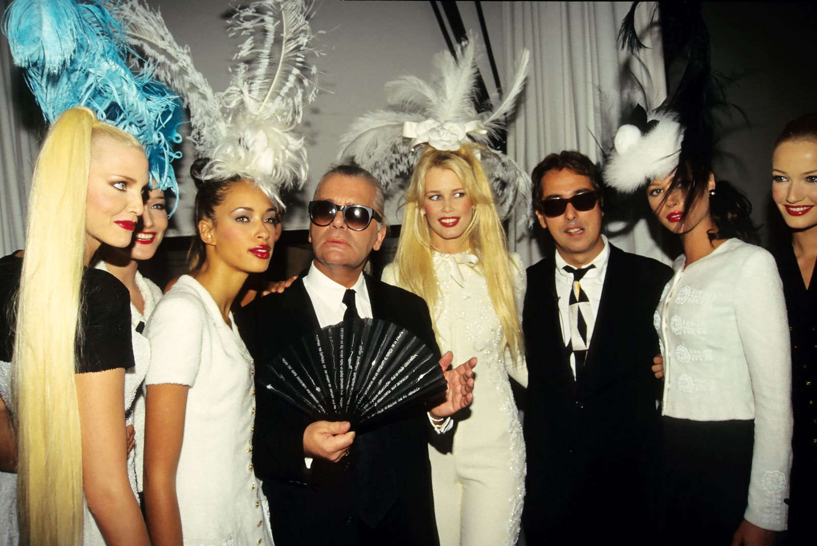 Paris Fashion Weeks In The 1990's