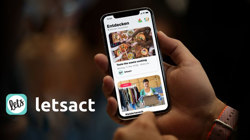 Die App Letsact bringt Ehrenamtliche und Vereine zusammen