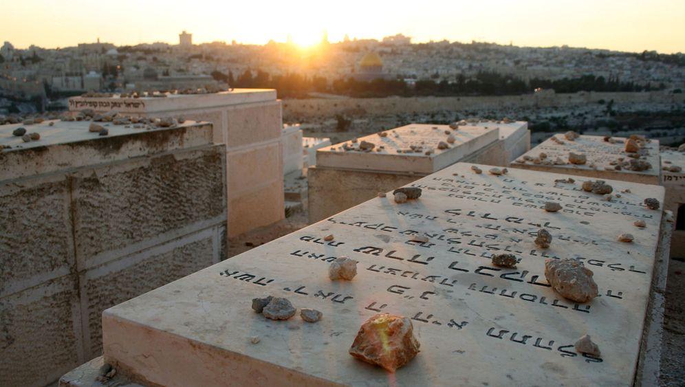 Ölberg in Israel: VIP-Platz für die letzte Ruhe