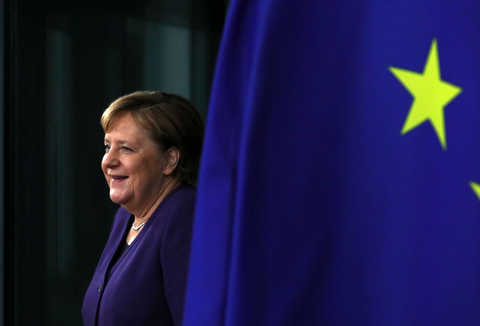 Angela Merkel - lage