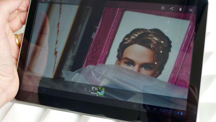 Honeycomb-Tablets: Samsung Galaxy Tab 10.1v