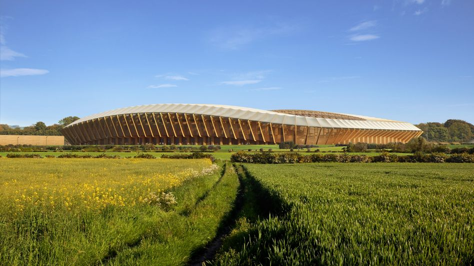 Stadion der Zukunft? Die Forest Green Rovers planen ein Stadion aus Holz