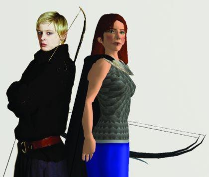 """Szene aus """"Die Helden auf Helgeland"""": Was ist Second Life wirklich?"""